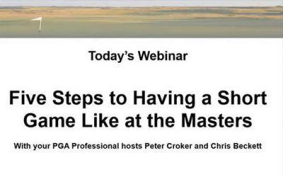 CGS Webinar Presented by Peter Croker and Chris Beckett